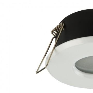 Встраиваемый светильник Maytoni Metal Modern DL010-3-01-W, 1xGU10x50W, белый, металл, стекло - миниатюра 7