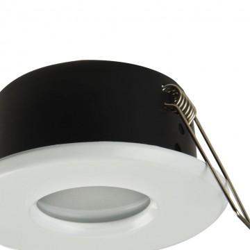 Встраиваемый светильник Maytoni Metal Modern DL010-3-01-W, 1xGU10x50W, белый, металл, стекло - миниатюра 8