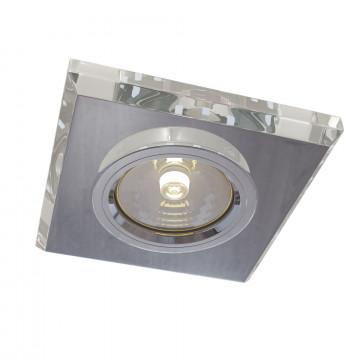 Встраиваемый светильник Maytoni Metal Modern DL288-2-3W-W, 1xGU10x50W, белый, стекло
