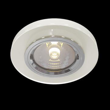 Встраиваемый светильник Maytoni Metal Modern DL291-2-3W-W, 1xGU10x50W, белый, стекло - миниатюра 2