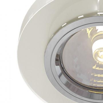Встраиваемый светильник Maytoni Metal Modern DL291-2-3W-W, 1xGU10x50W, белый, стекло - миниатюра 3