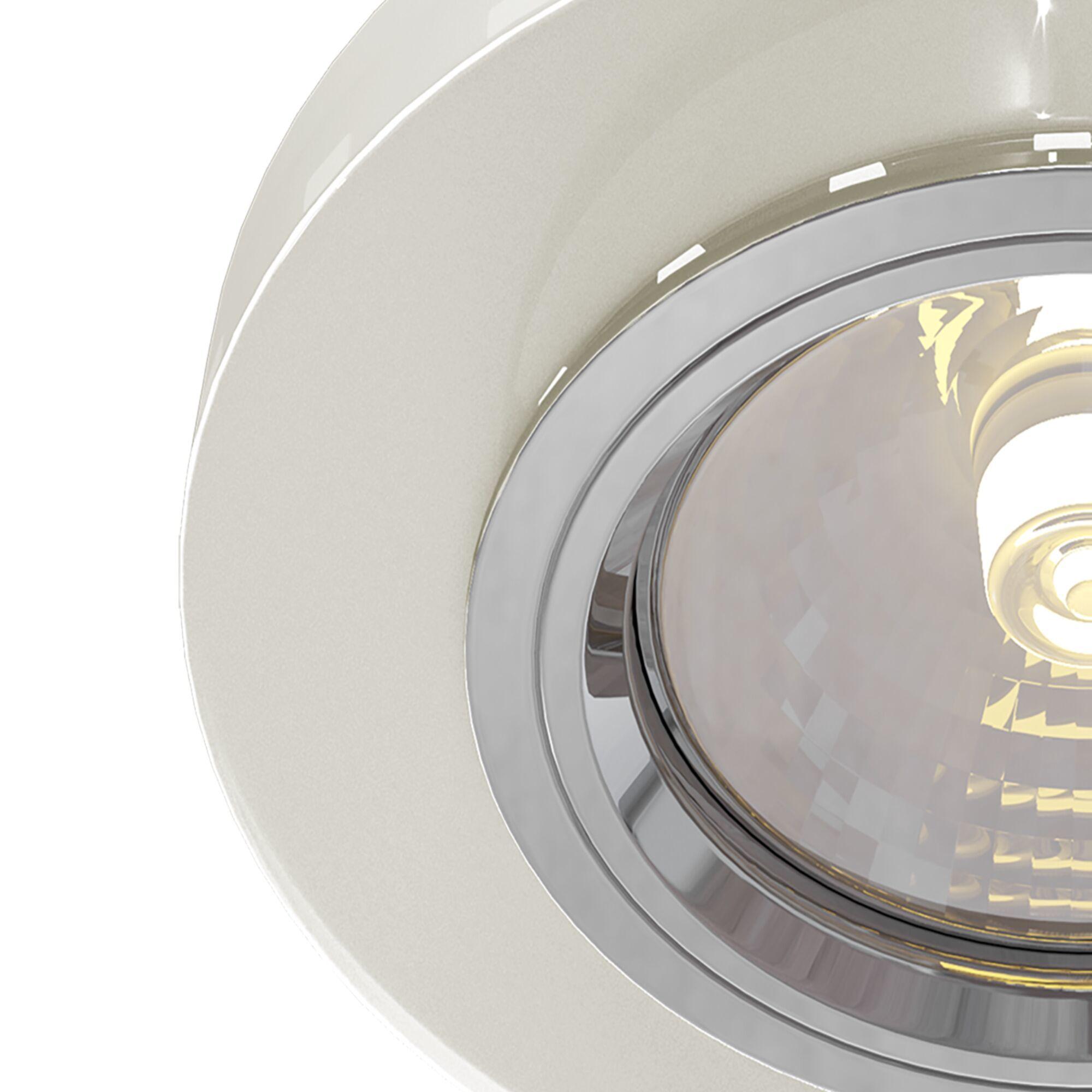 Встраиваемый светильник Maytoni Metal Modern DL291-2-3W-W, 1xGU10x50W, белый, стекло - фото 3