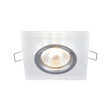 Встраиваемый светильник Maytoni Metal Modern DL292-2-3W-W, 1xGU10x50W, белый, стекло
