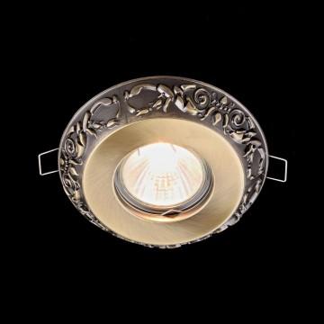 Встраиваемый светильник Maytoni Metal Classic DL300-2-01-BS, 1xGU10x50W, бронза, металл - миниатюра 3