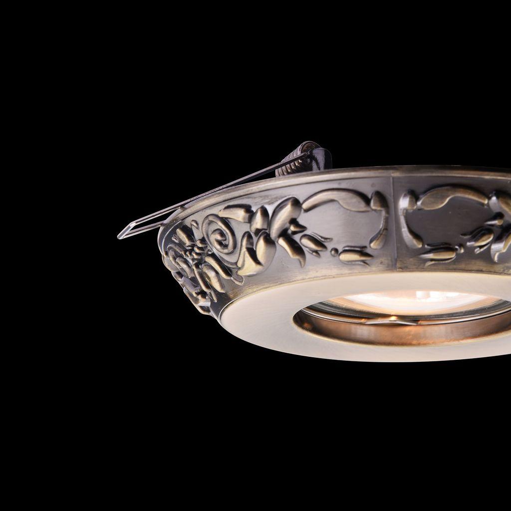 Встраиваемый светильник Maytoni Metal Classic DL300-2-01-BS, 1xGU10x50W, бронза, металл - фото 6