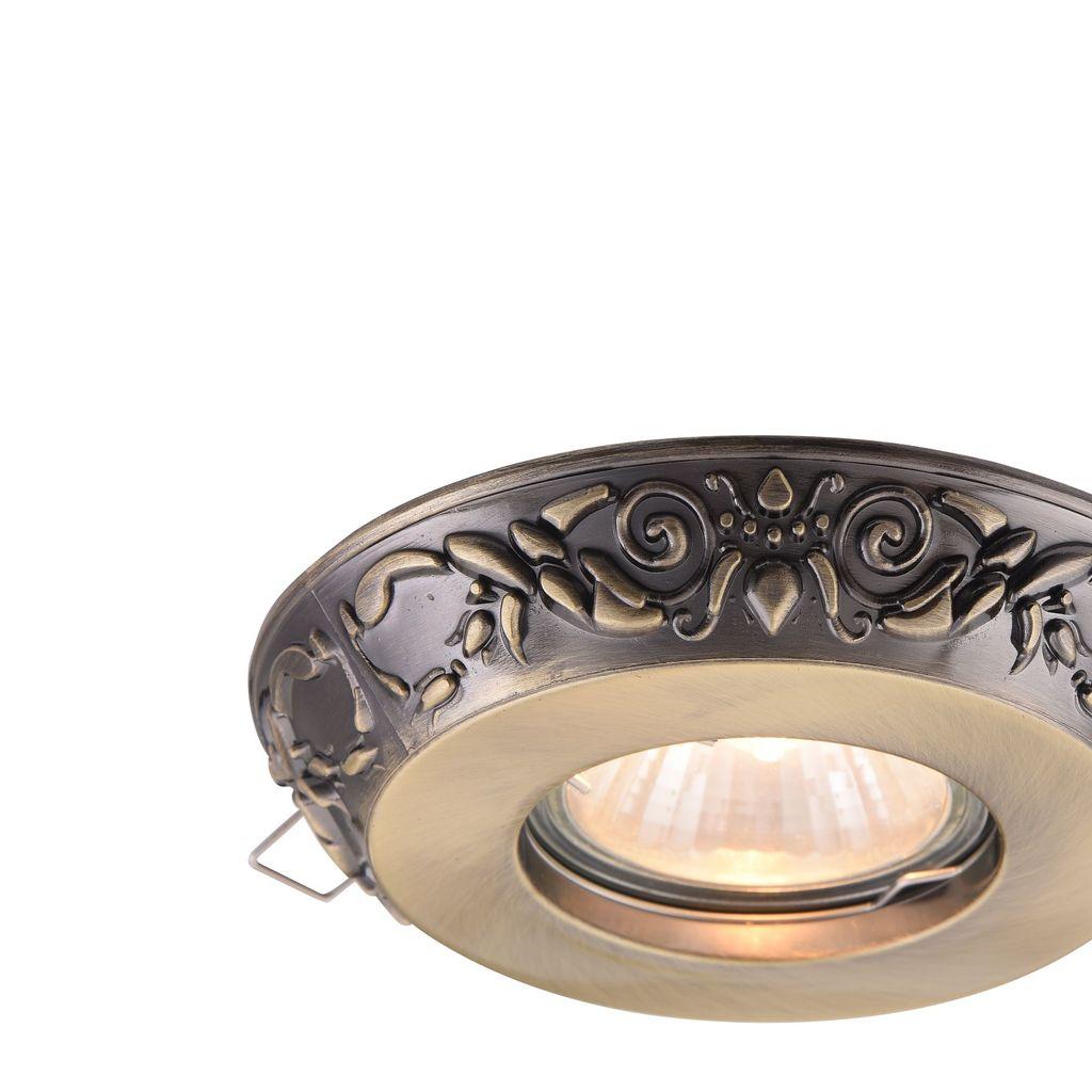 Встраиваемый светильник Maytoni Metal Classic DL300-2-01-BS, 1xGU10x50W, бронза, металл - фото 8