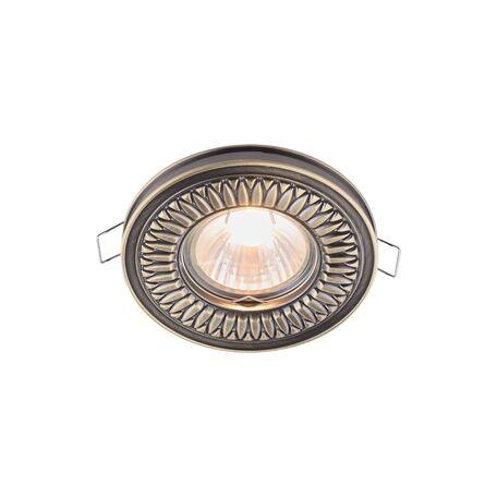 Встраиваемый светильник Maytoni Metal Classic DL301-2-01-BS, 1xGU10x50W, бронза, металл