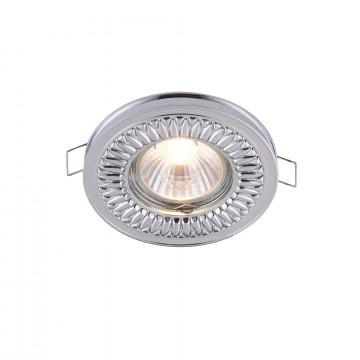Встраиваемый светильник Maytoni Metal Classic DL301-2-01-CH, 1xGU10x50W, хром, металл