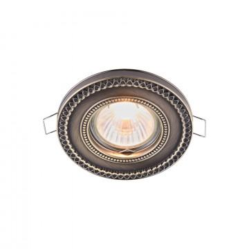 Встраиваемый светильник Maytoni Metal Classic DL302-2-01-BS, 1xGU10x50W, бронза, металл