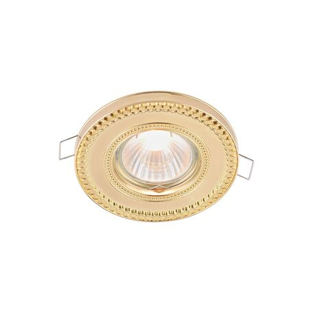 Встраиваемый светильник Maytoni Metal Classic DL302-2-01-G, 1xGU10x50W, золото, металл