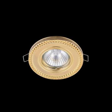 Встраиваемый светильник Maytoni Metal Classic DL302-2-01-G, 1xGU10x50W, золото, металл - миниатюра 2