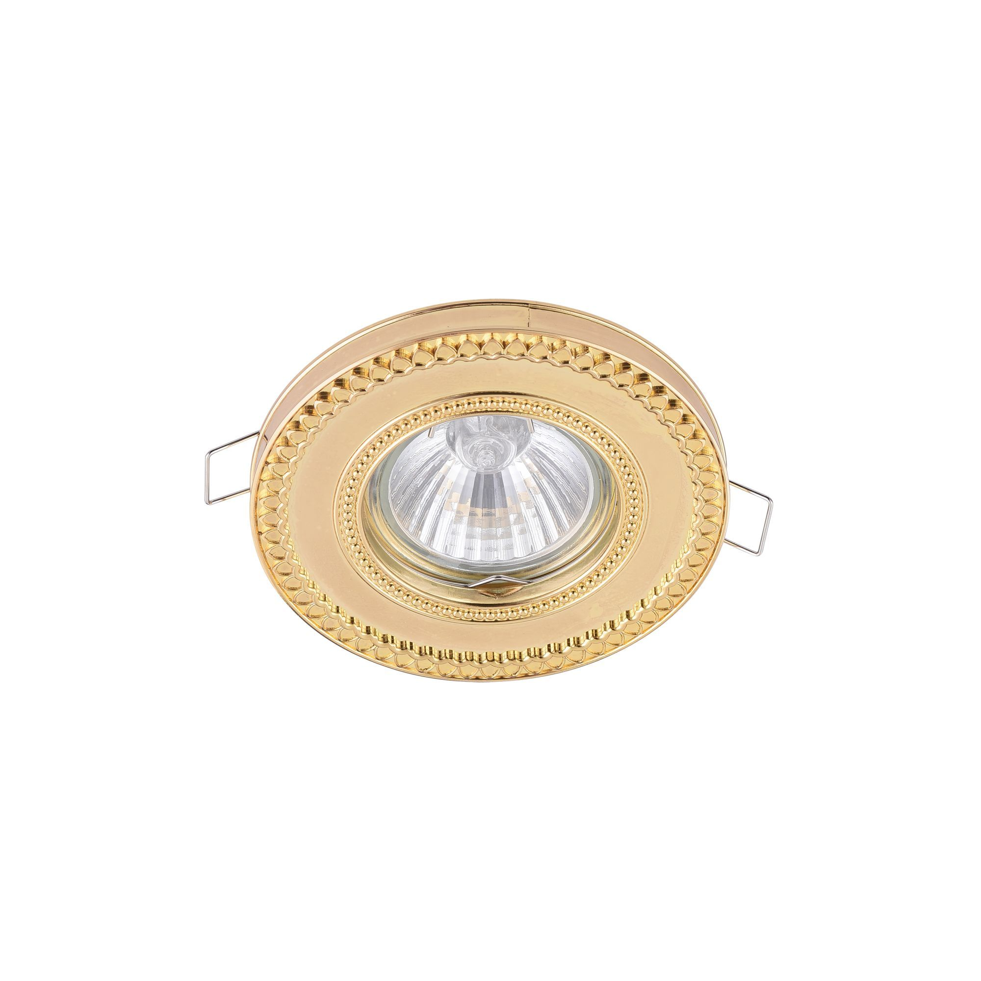 Встраиваемый светильник Maytoni Metal Classic DL302-2-01-G, 1xGU10x50W, золото, металл - фото 3