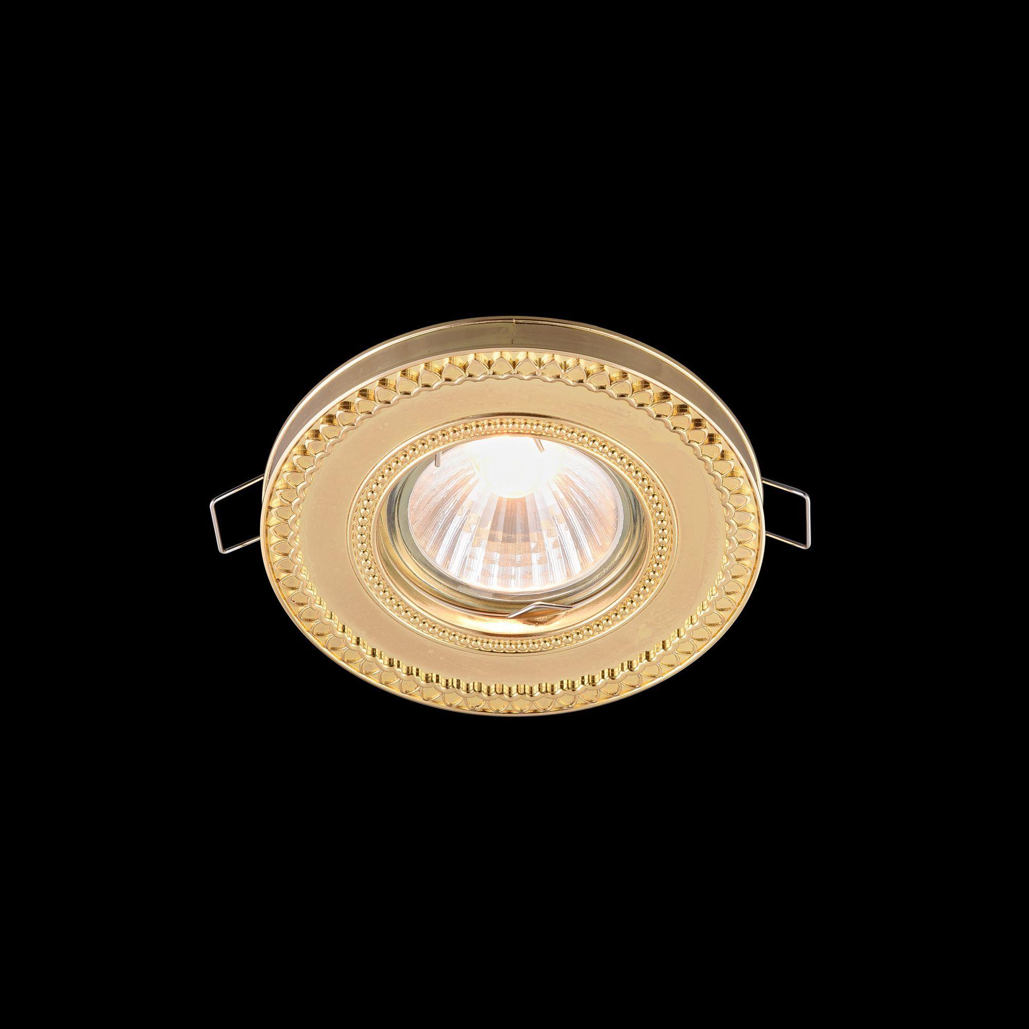 Встраиваемый светильник Maytoni Metal Classic DL302-2-01-G, 1xGU10x50W, золото, металл - фото 4