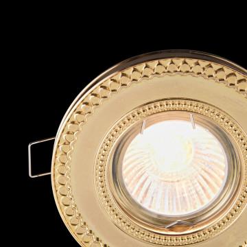 Встраиваемый светильник Maytoni Metal Classic DL302-2-01-G, 1xGU10x50W, золото, металл - миниатюра 6