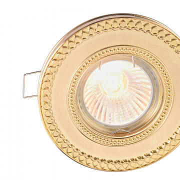 Встраиваемый светильник Maytoni Metal Classic DL302-2-01-G, 1xGU10x50W, золото, металл - миниатюра 7