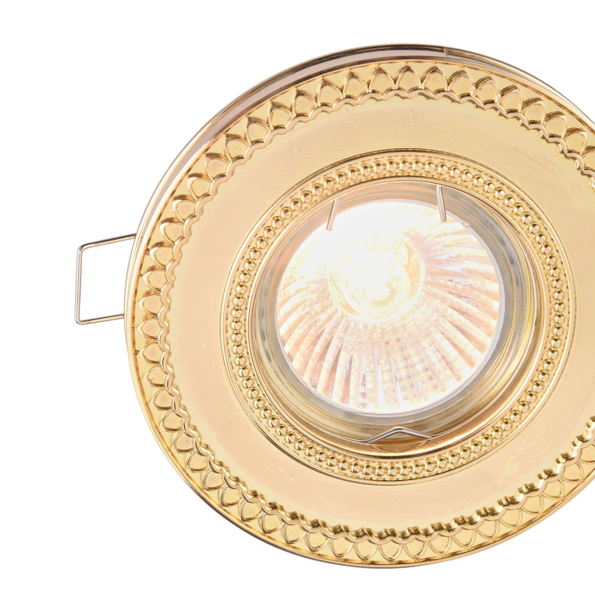 Встраиваемый светильник Maytoni Metal Classic DL302-2-01-G, 1xGU10x50W, золото, металл - фото 7
