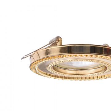 Встраиваемый светильник Maytoni Metal Classic DL302-2-01-G, 1xGU10x50W, золото, металл - миниатюра 8