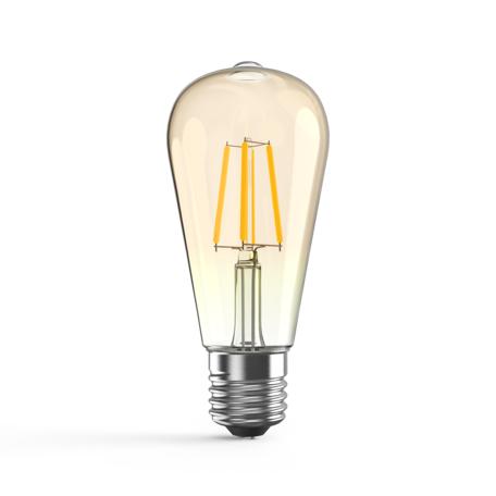 Светодиодная лампа Gauss 102802006-D E27 6W, 2400K (теплый)