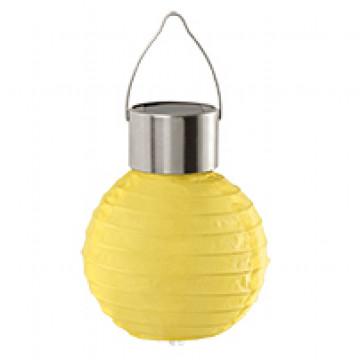 Садовый светодиодный светильник Eglo Solar 48621, IP44, LED 0,06W, хром, желтый, металл, пластик