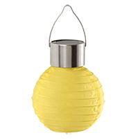 Садовый светодиодный светильник Eglo Solar 48621, IP44, LED 0,06W, хром, желтый, металл, пластик - фото 1