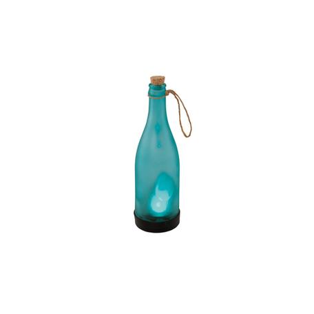 Садовый светодиодный светильник Eglo Z_Solar 48605, IP44, LED 0,06W, черный, голубой, пластик, стекло