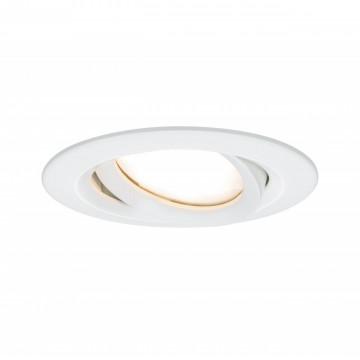 Встраиваемый светодиодный светильник Paulmann Nova Plus Coin IP65 93681, IP65, LED 6,8W, белый, металл