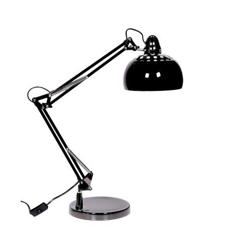 Настольная лампа Lumina Deco Rigorria LDT 8815-3 BK, 1xE27x40W, черный, металл