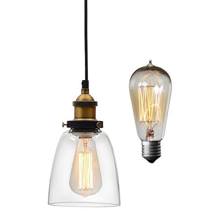 Подвесной светильник Lumina Deco Fabi LDP 6800-1, 1xE27x40W