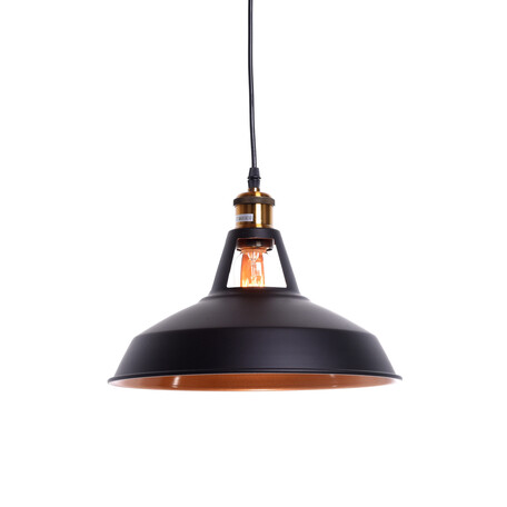 Подвесной светильник Lumina Deco Zonda LDP 6857 BK, 1xE27x40W