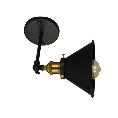Потолочный светильник с регулировкой направления света Lumina Deco Gubi LDW B005-1 BK, 1xE27x40W