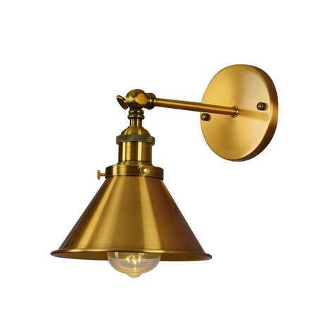 Потолочный светильник с регулировкой направления света Lumina Deco Gubi LDW B005-1 BRASS, 1xE27x40W