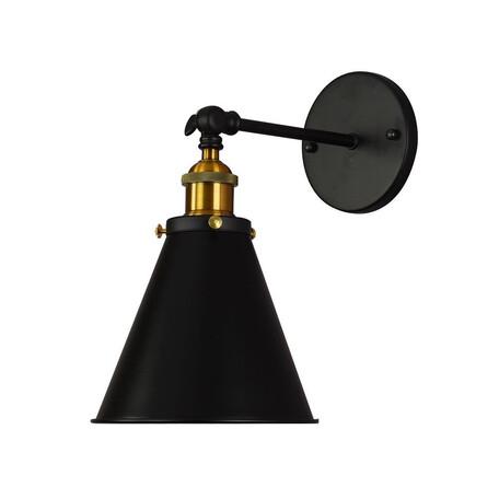 Потолочный светильник с регулировкой направления света Lumina Deco Rubi LDW B007-1 BK, 1xE27x40W