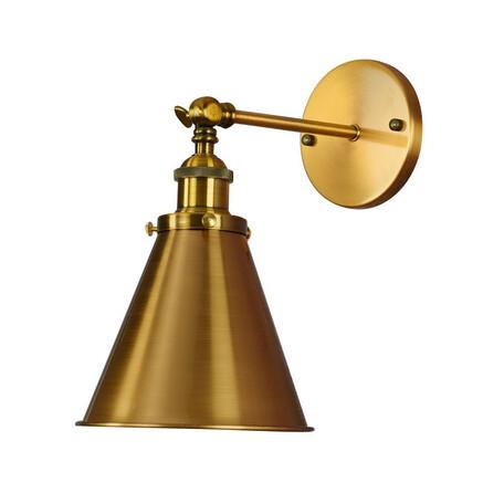 Потолочный светильник с регулировкой направления света Lumina Deco Rubi LDW B007-1 BRASS, 1xE27x40W