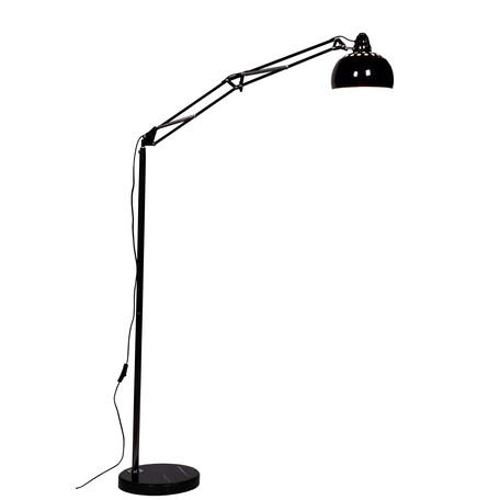 Торшер Lumina Deco Rigorria LDF 8815 BK, 1xE27x40W, черный, металл