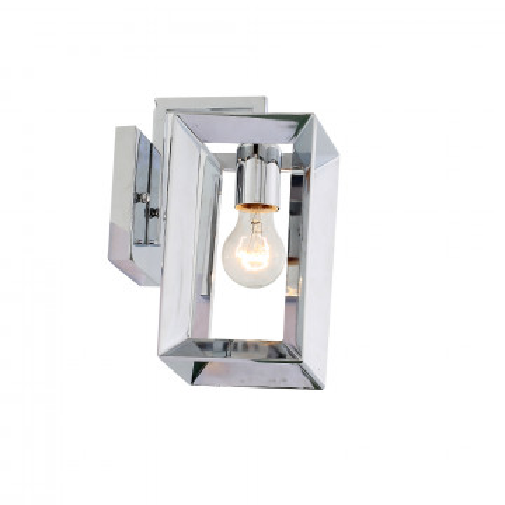 Настенный светильник ST Luce Livello SL381.101.01, 1xE27x60W, хром, металл
