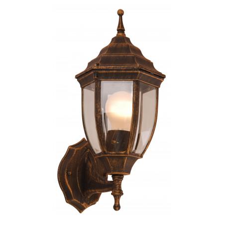 Настенный фонарь Globo Nyx I 31710, IP44, 1xE27x60W, металл, металл со стеклом
