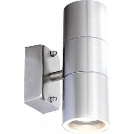 Настенный светильник Globo Style 3201-2L, IP44, 2xGU10x5W, металл