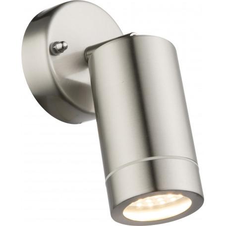 Настенный светодиодный светильник с регулировкой направления света Globo Perry 32068, IP44, металл, стекло
