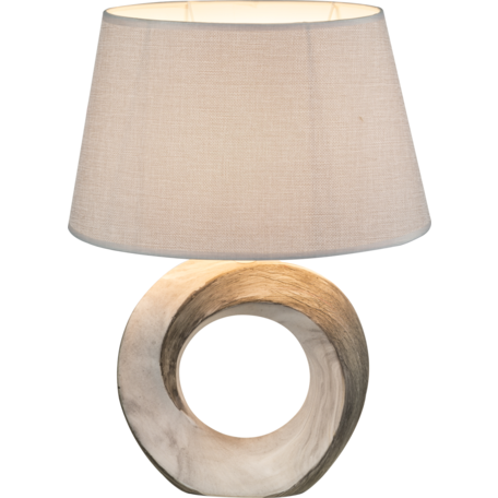 Настольная лампа Globo Jeremy 21641T, 1xE27x40W, керамика, текстиль