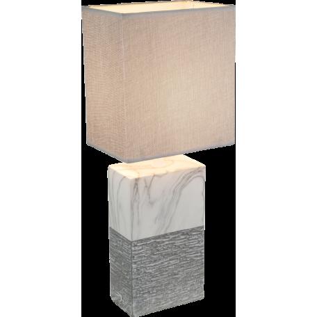 Настольная лампа Globo Jeremy 21643T, 1xE27x40W, керамика, текстиль