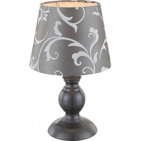 Настольная лампа Globo Metalic 21693, 1xE14x40W, металл, текстиль