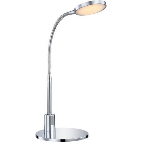 Настольная светодиодная лампа Globo Pegasi 24103, LED 3W 3000K, металл, пластик