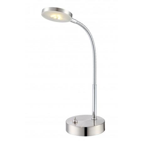 Настольная светодиодная лампа Globo Deniz 24122, LED 5W 3000K, металл, пластик