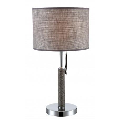Настольная лампа Globo Umbrella 24688, 1xE27x60W, камень, металл, текстиль