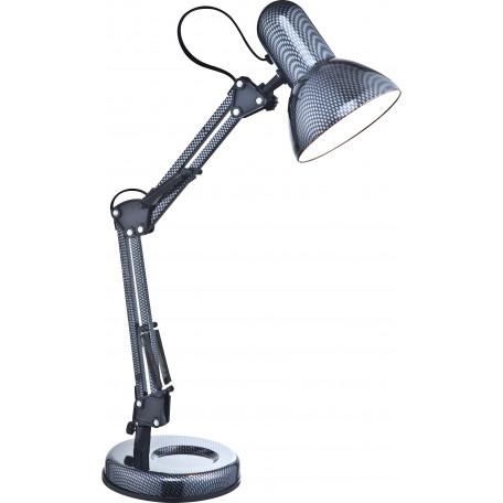 Настольная лампа Globo Carbon 24892, 1xE27x40W, металл