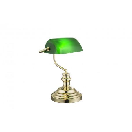 Настольная лампа Globo Antique 2491K, 1xE27x60W, металл, пластик