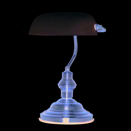 Настольная лампа Globo Antique 2492, 1xE27x60W, металл, стекло