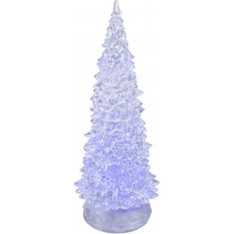 Настольная светодиодная лампа-ночник Globo Weihnachtsbaum 23224, LED 0,06W, металл, пластик