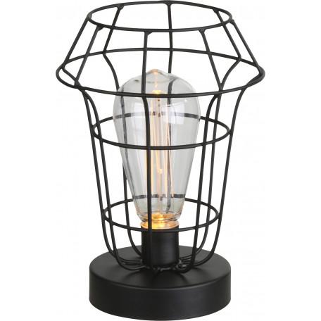 Настольная светодиодная лампа-ночник Globo Spacy 28195, LED 0,06W, металл