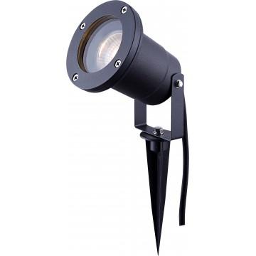 Прожектор с колышком Globo Style 32076, IP44, 1xGU10x35W, металл, стекло